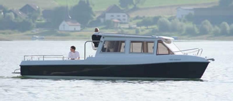 Grove Boats AquaBus 850T